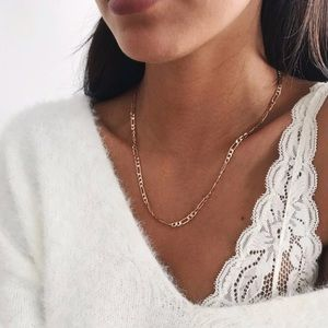 NEW✨ sexy single chain necklace silver